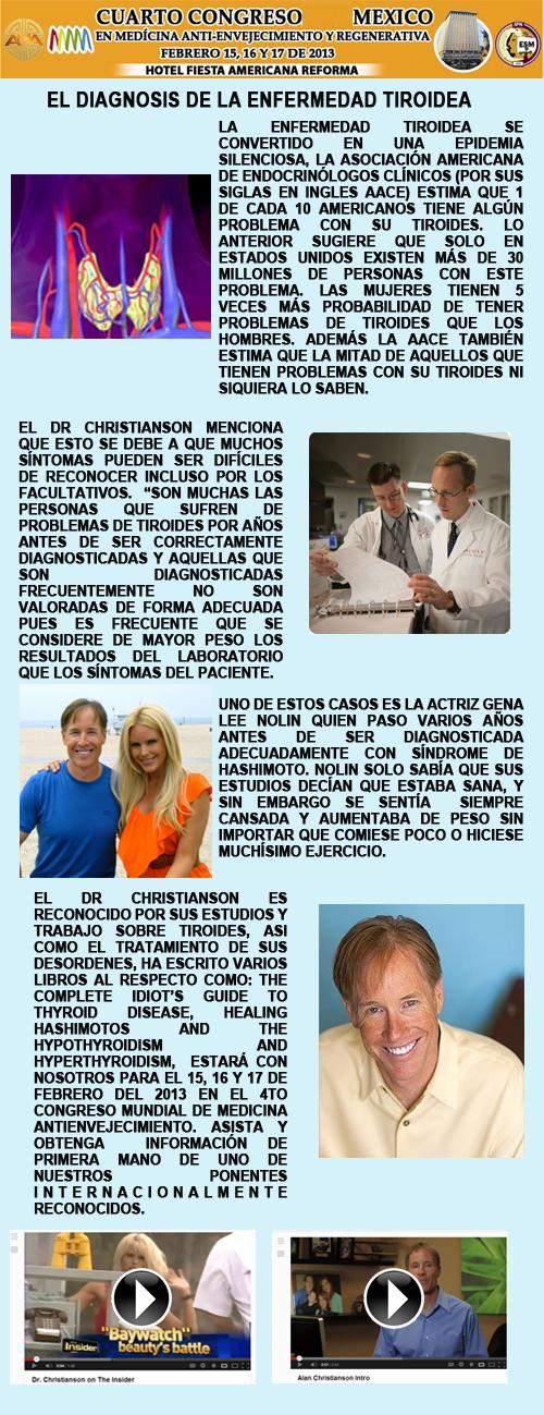 la diagnosis de la enfermedad tiroidea