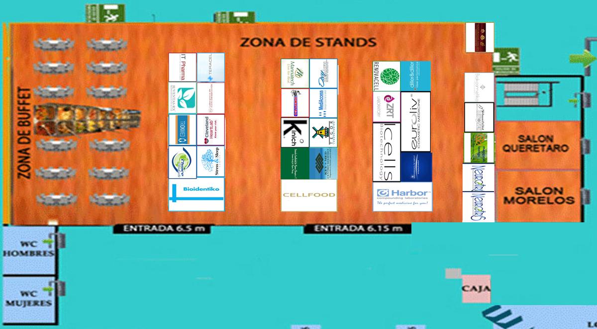 mapa-stands